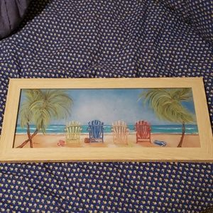 Picture of beach chairs